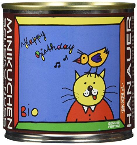 "Hanauer Minikuchen SchokoNuss\""Happy Birthday\"", 1er Pack (1 x 170 g)"