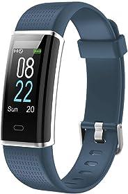 Willful Smartwatch Orologio Fitness Uomo Donna Fitness Tracker Cardiofrequenzimetro da Polso Contapassi Calorie Sonno Orologio Sportivo Impermeabile IP68 Whatsapp Notifiche per Android iOS Telefono