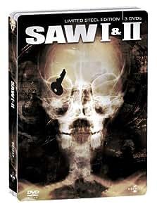 Saw I & II - Limited Steel Edition (3 DVDs im Steelbook) [Director's Cut]