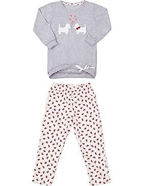Cornette Mädchen Schlafanzug CR5902016