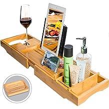 BamBridge ✮ La mejor bandeja para bañera hecha de bambú 100 % natural. 98625e2ea98e