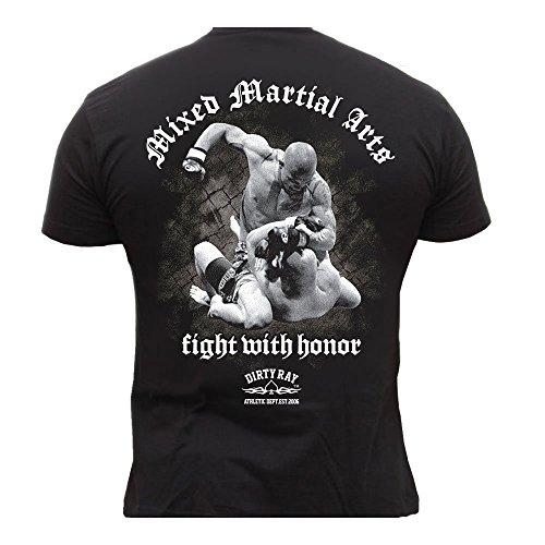 Mma-fighter T-shirt (Dirty Ray MMA Fighter Herren Men's T-Shirt DT4 (M))