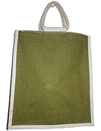 DSK Enterprise Jute Multi Color 11*11inch+3.5box Eco Friendly Jute Bag (DSKE-9)