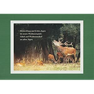 Handmadegruss Jagd Grußkarten. Weidmannsheil! Wir sind seit Jahren erfolgreich die erste Adresse für Jäger/innen in Europa