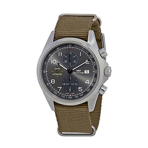 Glycine Combat Chronograph orologio da uomo 3945.10a.TB2