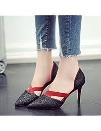 GAOLIM 亮 Alto Talón Zapatos Con Punta Fina Mujer Zapatos De Mujer Solo Zapatos Primavera Verano