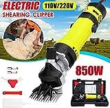 Cesoie elettriche in Lana 850W Electric Sheep Dog Pet Hair Clipper Animal Supplies Shearing Capra Alpaca Farm Taglio di Macchina w/Box di velocità Regolabile