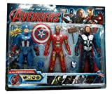 Shop & Shoppee Avengers Super Power Heroes 3 In 1 Action Figure Set