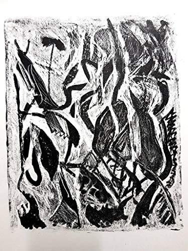 Atlan Original Kafka I Lithographie