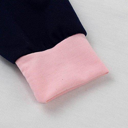 Minetom Donne Autunno Inverno Gatto Felpe Con Cappuccio Manica Lunga Stampa Sportive Pullover Sweatshirt Felpa A Lettera