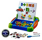 #2: Toyshine Magnetic Numbers Board and Drawing Board, with Cue Cards Fun Way to learn Numbers