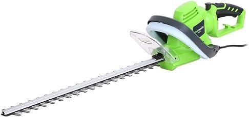 Greenworks Elektro-Heckenschere 500 W 56 cm Strauchschere Motorheckenschere
