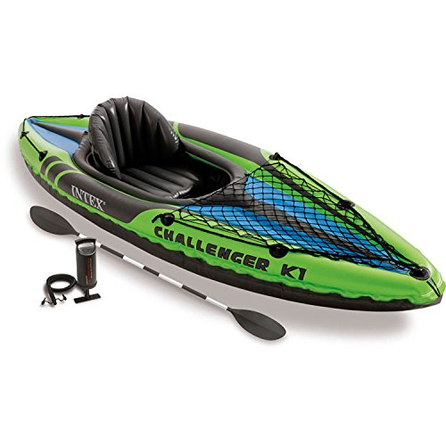 Intex Challenger K1 - Set de kayak hinchable y 1 remo