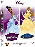 La princesse et la grenouille + La Belle et la Bête - coffret 2 DVD