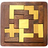 ITOS365 Wood Jigsaw Puzzle - Wooden Toys for Kids - Travel Games for Families - Unique Gifts for Children