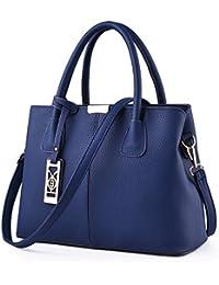 ac89566363764 Meoaeo Neue Canvas Tasche Kleine Handtasche Für Männer Und Frauen  Einheitliche Schulter Royal Blau Billig Verkauf