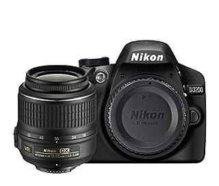 Nikon D3200 SLR-Digitalkamera (24 Megapixel, 7,4 cm (2,9 Zoll) Display, Live View, Full-HD) Kit inkl. AF-S DX 18-55 VR II Objektiv schwarz (B00I3M5U5M) | Amazon price tracker / tracking, Amazon price history charts, Amazon price watches, Amazon price drop alerts