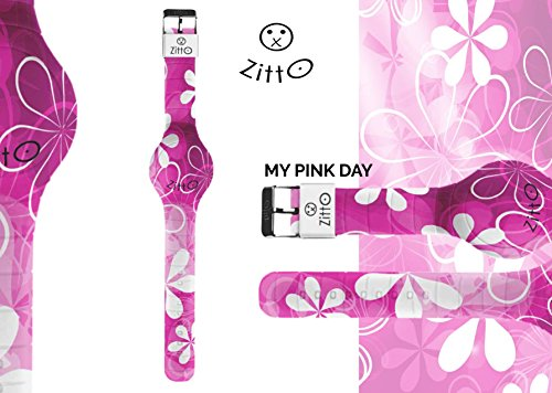 Orologio ZITTO Basic a Led in Silicone Limited Edition MYPINKDAY G