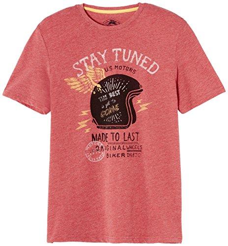 Celio Herren T-Shirt Geinter Rouge (Rouge Rouge Tomate)
