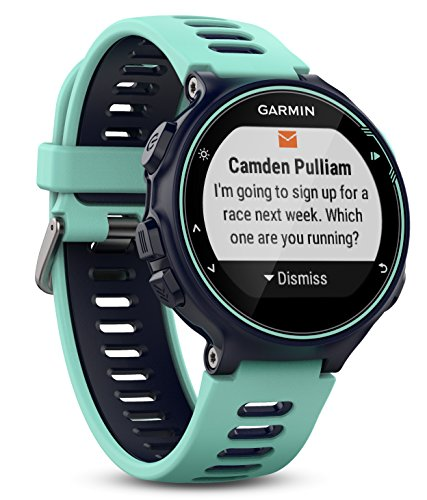 Garmin Forerunner 735XT GPS Multisport and Running Watch – Midnight Blue/Frost Blue