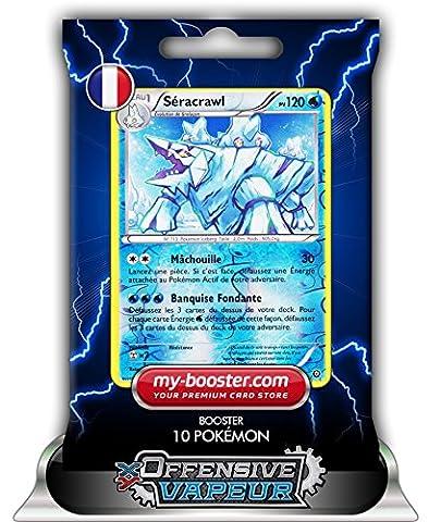 SERACRAWL holo reverse 37/114 120PV XY11 OFFENSIVE VAPEUR - Booster de 10 cartes Pokemon francaises my-booster