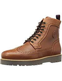 Fred Perry - Northgate Boot Leather - B9088 - Braun (Tan 448) & Schwarz (Black 102)