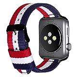 luxueux bandes de bracelets de montre de style NATO en nylon durable pour série...