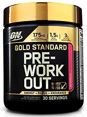 Optimum Nutrition Gold Standard Pre Workout 330g Watermelon from Optimum Nutrition