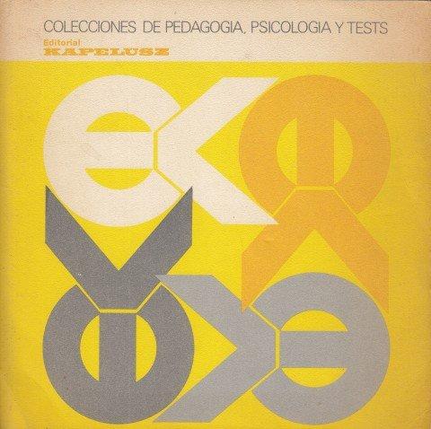 COLECCIONES DE PEDAGOGÍA, PSICOLOGÍA Y TESTS
