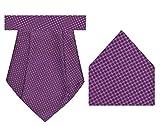 Tiekart Electric-Cravat + Pocket Square ...