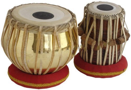 fasherati Messing Tabla Set Messing - Indische Trommel-musik