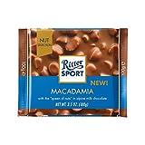 Ritter Nuez De Macadamia Deporte Perfección 100 G De Chocolate Con Leche - Paquete de 6