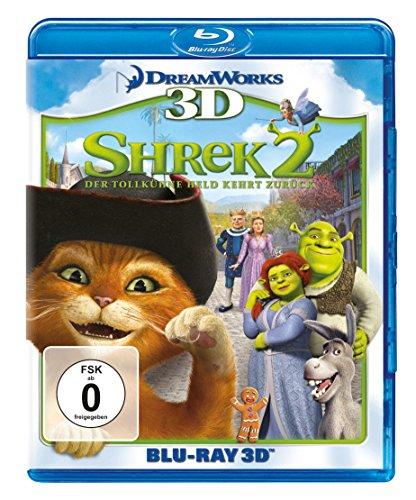 Shrek 2 - Der tollkühne Held kehrt zurück (+ Blu-ray 2D)