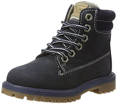 s.Oliver Jungen 36105 Hohe Sneaker, Blau (Navy), 30 EU