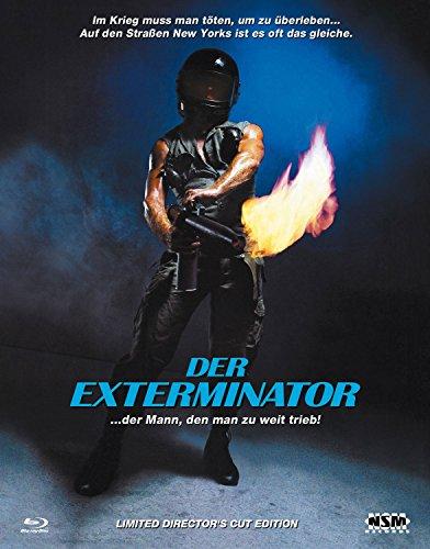 Der Exterminator - Uncut - Hartbox Cover A [Blu-ray] limitiert auf 333 Stück