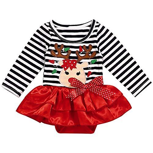 Kleinkind Mädchen Weihnachts Outfits - Sfuzwg Kleinkind Baby Mädchen Kleidung Weihnachten