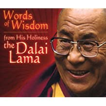 Words of Wisdom: From His Holiness the Dalai Lama by Margaret Gee (Editor) (1-Nov-2003) Cards