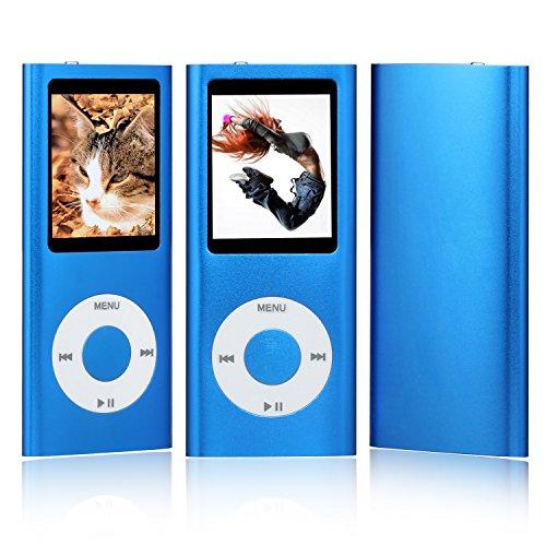 Advance Tech® NUOVO 16GB 4th generazione MUSICA MP3 MEDIA PLAYER RADIO FM Video 1.8 (blu)