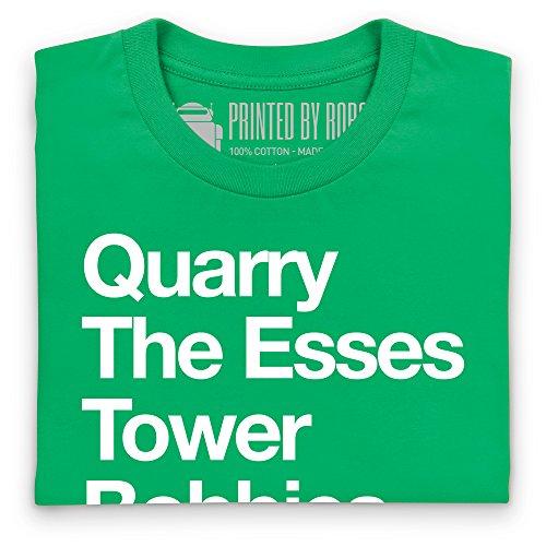 Castle Combe Corners T-Shirt, Herren Keltisch-Grn