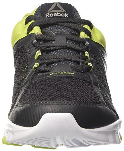Reebok Yourflex Train 9.0, Scarpe Da Ginnastica Uomo Verde (Coal/Green/White/Pewter)