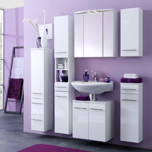 Waschbeckenunterschrank Parma, Held, weiß (50 cm breit) - 2