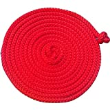 Loggyland Gymnastik-Springseil 5 Meter Auswahl (rot)