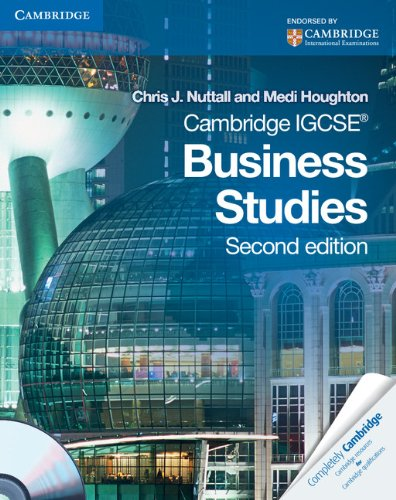 Cambridge IGCSE Business Studies Coursebook with CD-ROM (Cambridge International IGCSE)