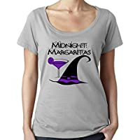 Cheeky Witch® Midnight Margaritas Practical Magic Halloween Scoop Neck Top Pagan Wiccan T-Shirt