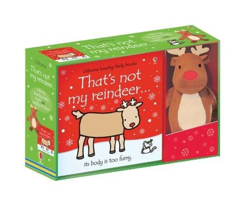 That's not my Reindeer Book and Toy