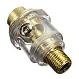 Druckluftoeler - TOOGOO(R)Druckluftoeler Minioeler 6mm Druckluft Nebeloeler 1/4