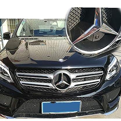 Front-Kamera-170-Wasserfest-13-HD-CCD-Emblem-Kamera-Schwarz-fr-MB-Mercedes-GLKGLCGLEGLAMLS-ClassR-ClassW164W163ML350ML300GLK-300