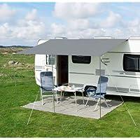 Auvent gris de 240cm pour caravanes, autocaravanes, camping-cars