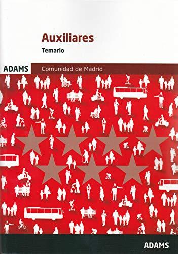 Temario Auxiliares Administrativos de la Comunidad de Madrid por Vv. Aa.