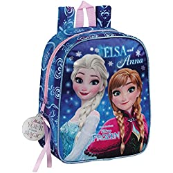 Frozen Northen Lights Mochila escolar, 27 cm, Azul